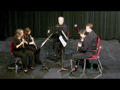 Arne Running: Aria and Quodlibet for Woodwind Quintet - Aria