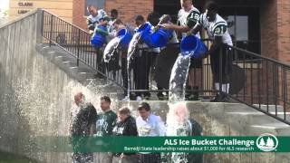 BSU administration takes ALS Ice Bucket Challenge Thumbnail