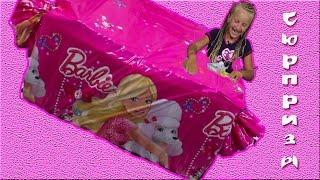 Barbie: Surprise eggs Kinder Surprise Маша и Медведь, Фиксики, Губка Боб