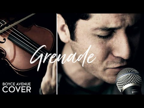 Bruno Mars - Grenade (Boyce Avenue acoustic cover) on Spotify & Apple