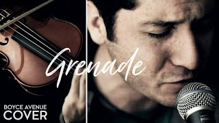 Grenade - Bruno Mars (Boyce Avenue acoustic cover) on Spotify & Apple