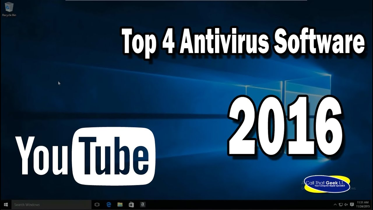 Best Antivirus for 2016 - Top 4 Antivirus Programs - Call That Geek I T