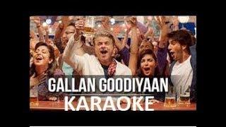 Guys gallan goodiyan clean free karaoke with lyrics. video is taken from bollywood/hollywood thanks track justmusicclub. thanks...