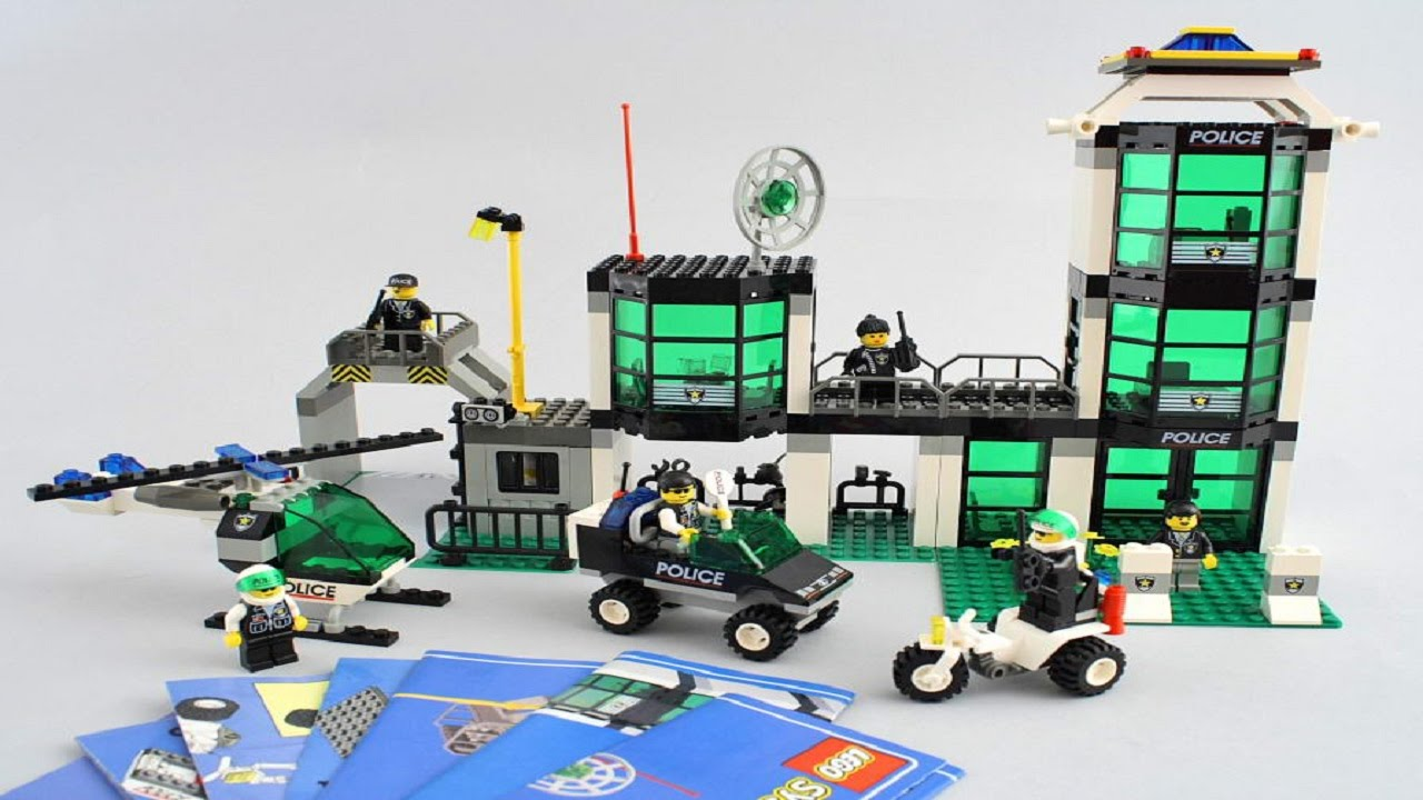 Lego 6332 Police Headquarters City Police Instruction Booklet