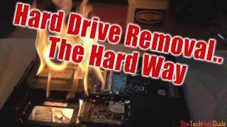 Switch a Hard Drive - The Hard Way