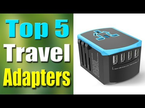 Top 5 Best Travel Adapter 2019