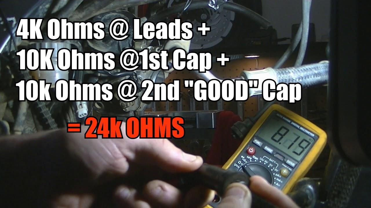 MCHP: Ep12 DR650: Ignition coil test/ Spark plug cap test