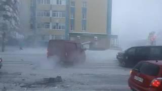 Ханты-Мансийск перекресток Чехова-Строителей
