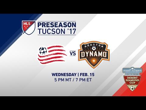 NE Revolution vs Houston Dynamo | Desert Friendlies 2017 | LIVE