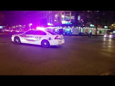 Washington, District Of Columbia Metropolitan Police Department Passing By In Washington, D.C.