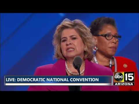 FULL: Rules Report Barney Frank & Leticia Van de Putte - Democratic National Convention