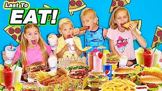 Don't Take Mine! Tannerites Last To Eat Their Fast Food WINS!
