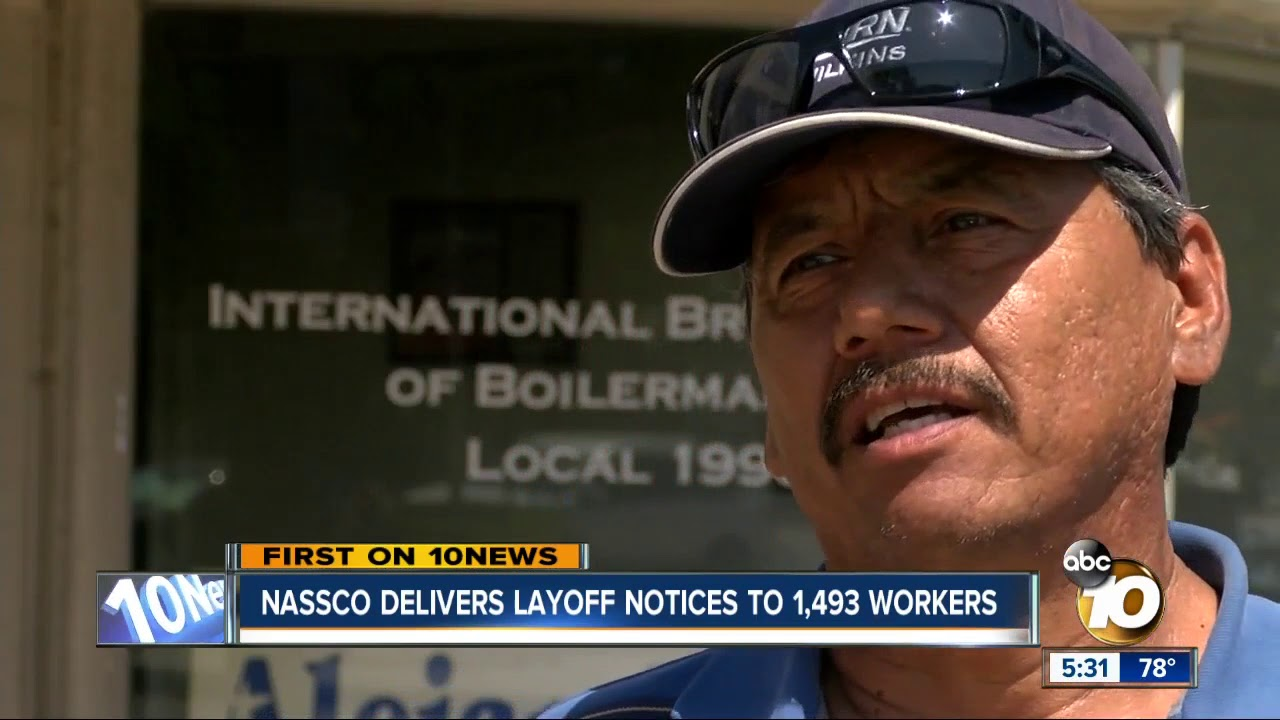 NASSCO delivers layoff notices to 1,493 workers