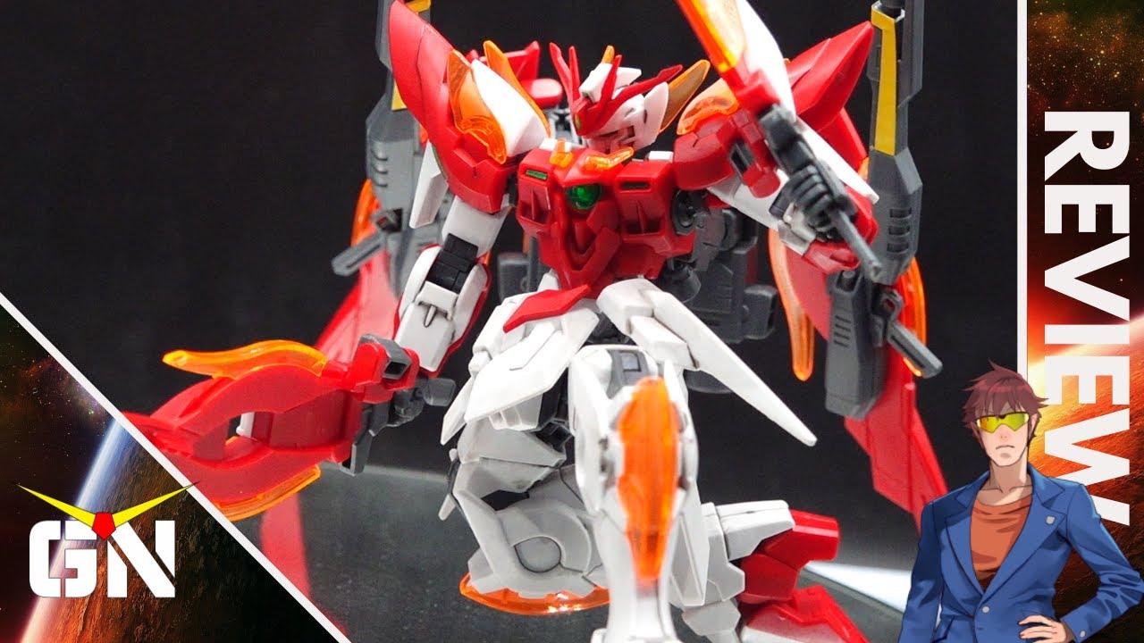 Let It Burn ?!?!? HG 1/144 Wing Gundam Zero Honoo   REVIEW