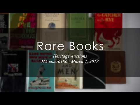 Rare Books  - Heritage Auctions - 6186