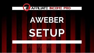 MCA Automated System   Aweber Setup & List Share Code Import