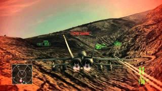 Ace Combat Assault Horizon :: (Mission 5) Blue On Blue :: (HD) :: Difficulty Ace