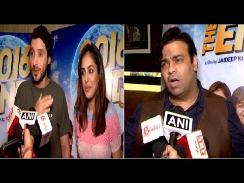 2016 The End Star-cast Interview |Kiku Sharda,Divyendu Sharma,Priya Banerjee and Rahul Roy