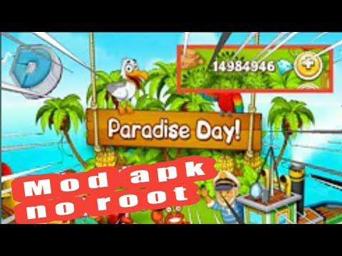 Paradise Farm Hack Apk No Root Hack mod game nông trại  DTG Gamer VN