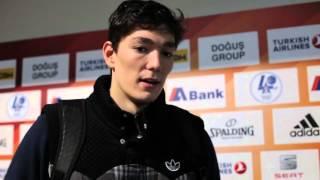 Anadolu Efes - Cedevita Zagreb Maç Sonu Röportajları
