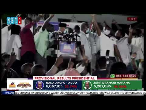 ELECTION REFERENCE CENTRE 2020 LIVE COVERAGE