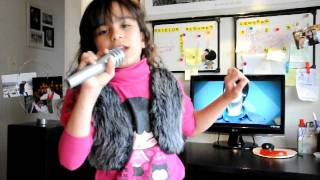 Repeat youtube video Niña sueña con conocer a Justin Bieber - Aythana Biscione
