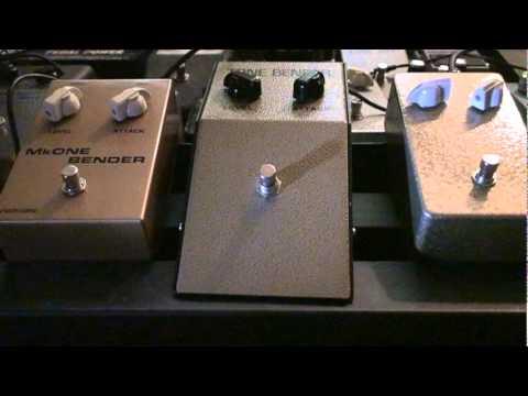 3 Classic sounding Mark 1 replica tone benders. (2) JMI, Germs, and Castledine Electronics