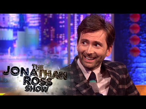 David Tennant's Children Becoming Dr Who Fans - The Jonathan Ross Show