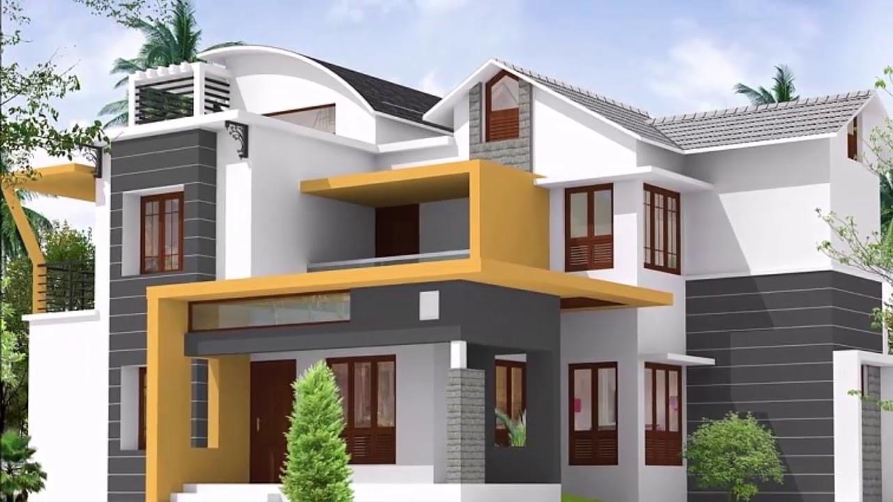Home Exterior Design 2020 Home Exterior Paint Color Schemes Ideas Youtube