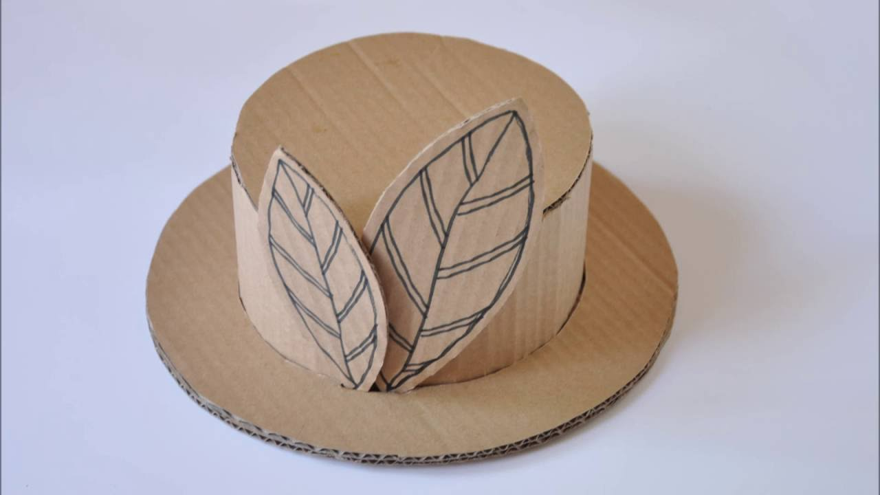 Шляпа незнайки своими руками из картона фото 801