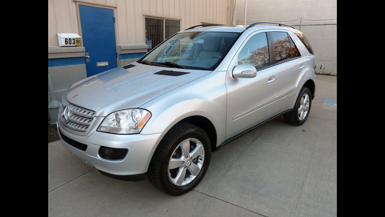 2006 mercedes benz ml500 sold 2526 plymouth mi youtube. Black Bedroom Furniture Sets. Home Design Ideas