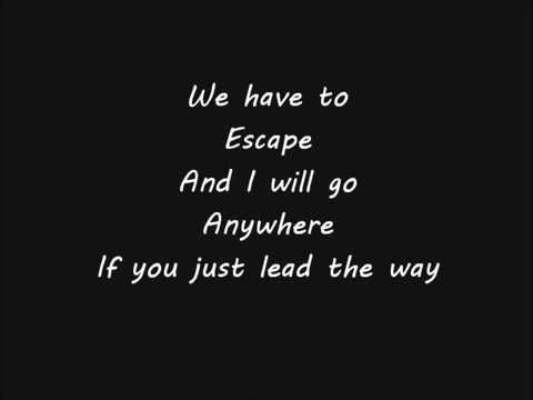 Hoobastank - Escape Lyrics