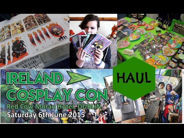 Ireland Cosplay Con 2015: V de V merchandise is discussed by Boy Geeks Girl