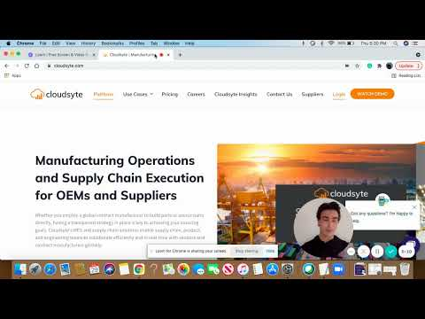 Watch demo of Cloudsyte