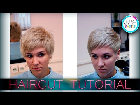 haircut womens for a thick curly hair   (женская стрижка для густых вьющихся волос)  tutorial 23