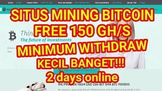 Video Bitcoin Mining Site 150 GH / S FREE, SAFE AND MINIM WD SMALL. download MP3, 3GP, MP4, WEBM, AVI, FLV Agustus 2018