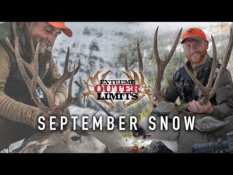 High Country Wyoming Mule Deer Hunting - Extreme Outer Limits