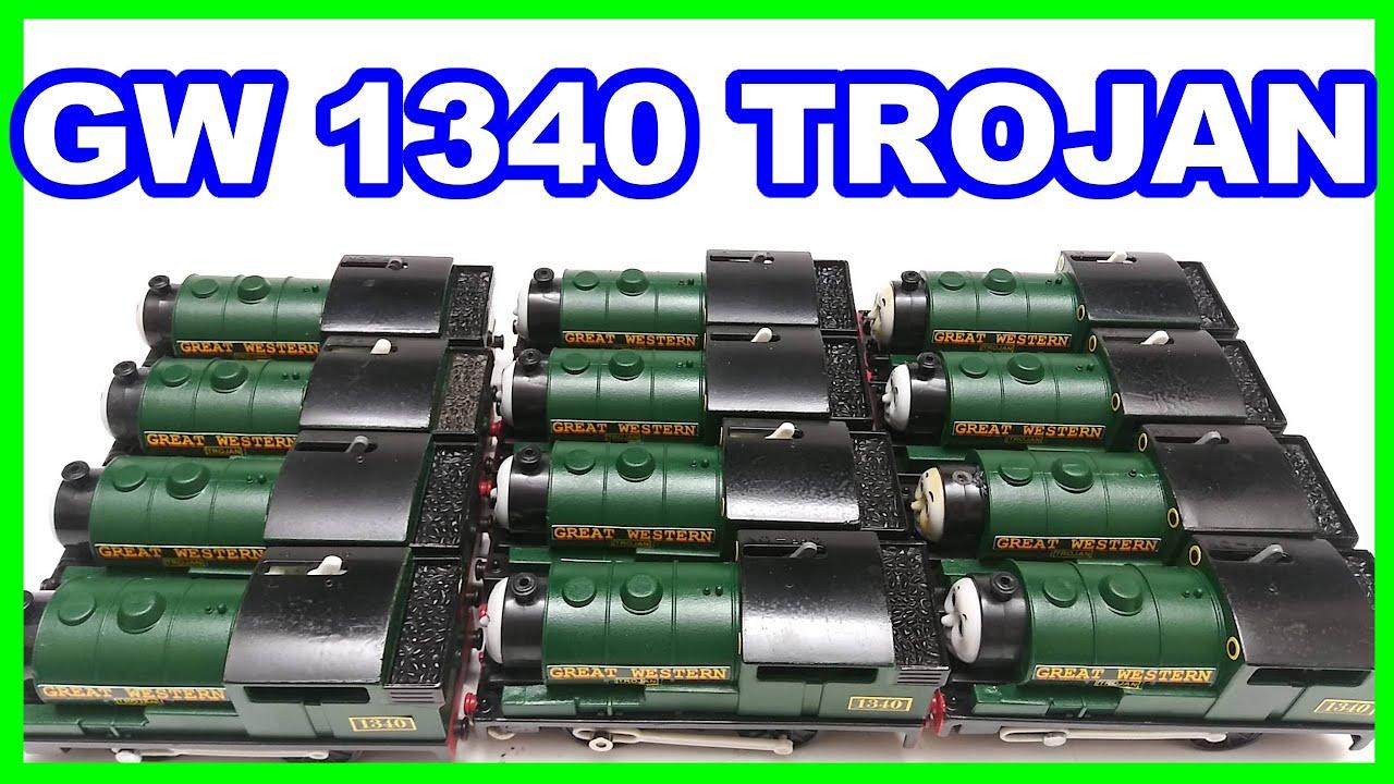 (12) custom GW Trojan 1340 Trackmaster Thomas & friends Thomas y sus amigos Томас и друзья きかんしゃトーマス
