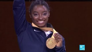 Simon Biles makes history: American gymnast wins record 25th World Championship medal