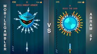 Knife Hit VS! Who will win? (Me vs Mobile Gambler)