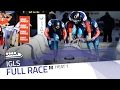 Igls BMW IBSF World Cup 2016 2017 4 Man Bobsleigh Heat 1 IBSF Official mp3