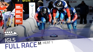 Igls | BMW IBSF World Cup 2016/2017 - 4-Man Bobsleigh Heat 1 | IBSF Official