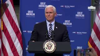 Vice President Pence Delivers Remarks to Employees on Opening Up America Again at Oberg Industries