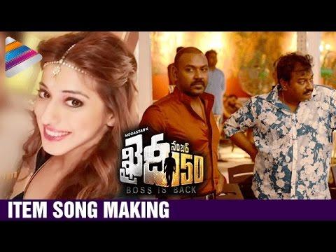 Khaidi No 150 Movie ITEM SONG Making |...