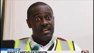 KNUST Campus Extension - News Desk on JoyNews (24-1-19)