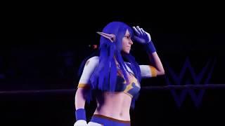 WWE 2K18 CAW - Judith (Tales of Vesperia)