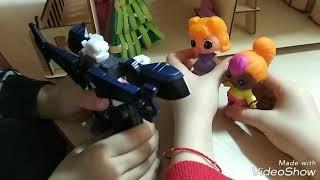 Куклы Lols. Игра в деревянном домике. Мультик Детский. Видео для детей.