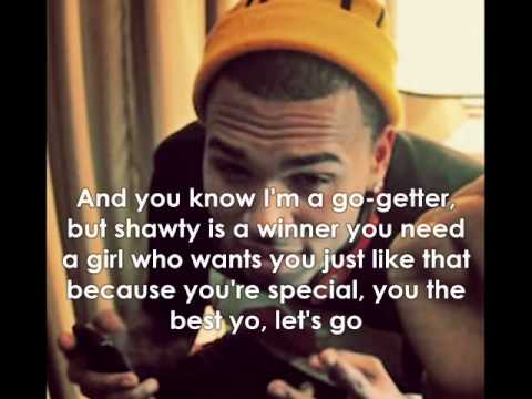 Chris Brown - The Best Yo W/Lyrics