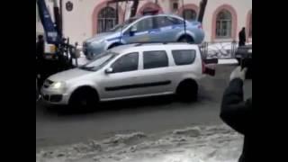 Эвакуатор забирает машину ДПС(, 2017-02-16T09:37:05.000Z)