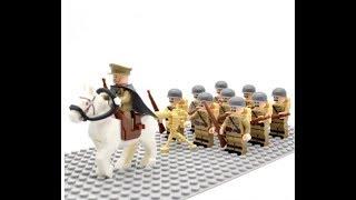 Лучшие Лего советские солдаты на ВЕликую Отечественную Войну!